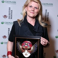 GOLDEN MASK for &quot;Best foreign production shown in Russia 2015&quot; <em>Photo: Vladimir Dubinsky</em>